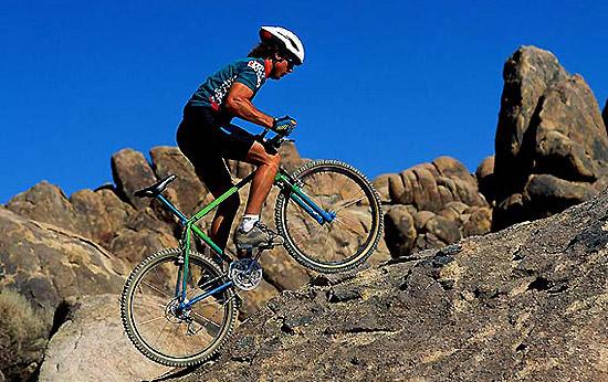 педалирование велосипеда