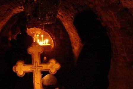 Подземный монастырь в Харьковской области