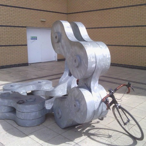 Памятник велоцепи