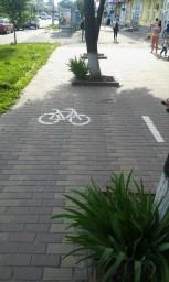 Велодорожка в Виннице