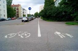 Велодорожка в Финляндии.