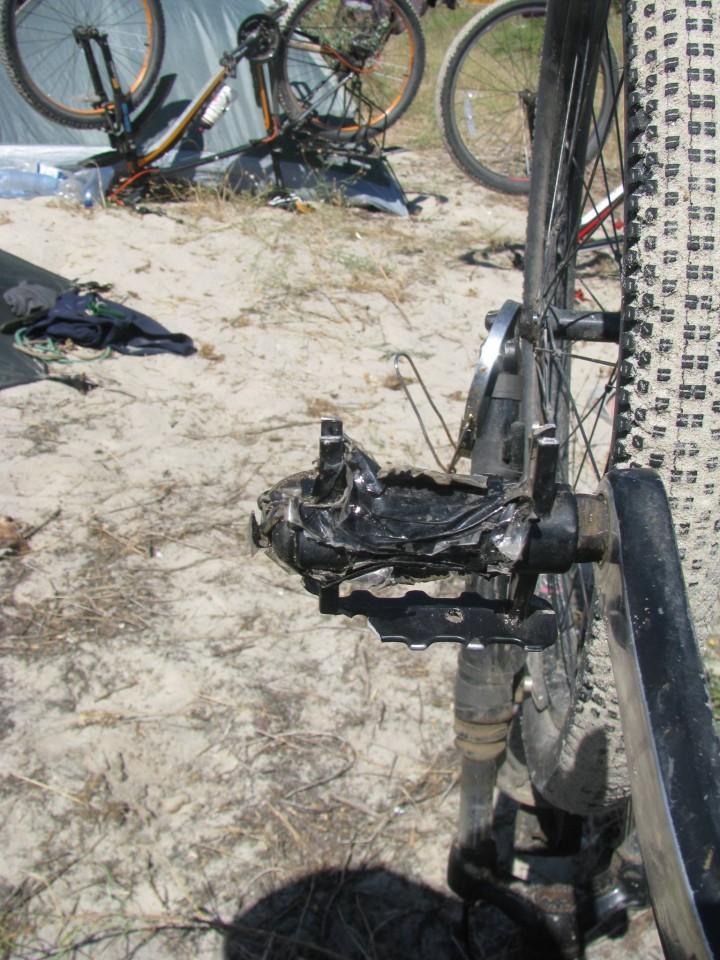 Раскрошилась педаль