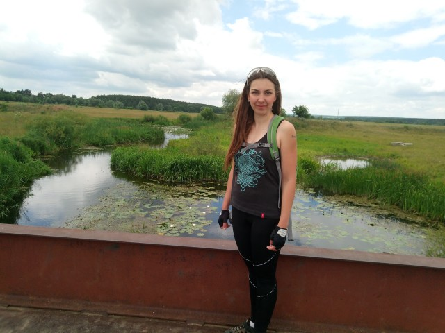 Река Мжа в Утковке